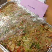 Pancit for Breakfast :)