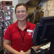 "From CBC.COM: ""Charina Villanueva has been in Yellowknife for two years under the temporary foreign worker program, working at Mac's convenience store. (CBC)""  (Photo Courtesy of CBC.COM)"