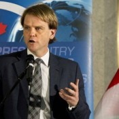 """Citizenship and Immigration Minister Chris Alexander expects to see 'new markets,' such as in Europe, develop as a result of expedited immigration. (Nathan Denette/THE CANADIAN PRESS)""  Photo courtesy of The Globe and Mail www.theglobeandmail.com"